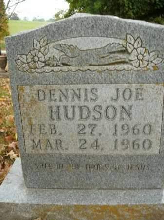 HUDSON, DENNIS JOE - Boone County, Arkansas | DENNIS JOE HUDSON - Arkansas Gravestone Photos