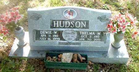 HUDSON, DEWIE  W. - Boone County, Arkansas | DEWIE  W. HUDSON - Arkansas Gravestone Photos