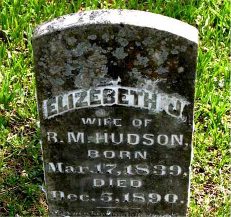 HUDSON, ELIZABETH J. - Boone County, Arkansas | ELIZABETH J. HUDSON - Arkansas Gravestone Photos