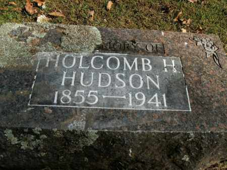 HUDSON, HOLCOMB H. - Boone County, Arkansas | HOLCOMB H. HUDSON - Arkansas Gravestone Photos