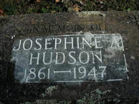 HUDSON, JOSEPHINE A. - Boone County, Arkansas | JOSEPHINE A. HUDSON - Arkansas Gravestone Photos
