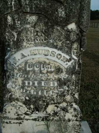 HUDSON, J. A. - Boone County, Arkansas | J. A. HUDSON - Arkansas Gravestone Photos