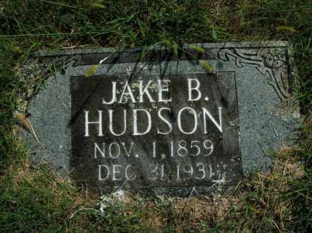 HUDSON, JAKE B. - Boone County, Arkansas | JAKE B. HUDSON - Arkansas Gravestone Photos