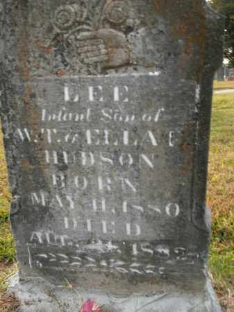 HUDSON, LEE - Boone County, Arkansas | LEE HUDSON - Arkansas Gravestone Photos