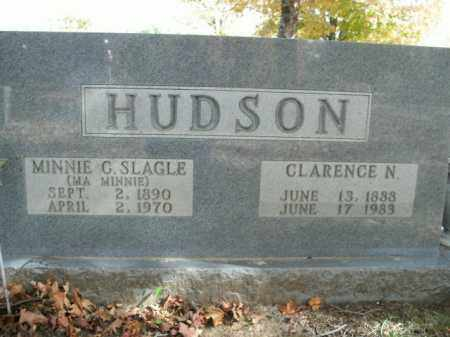 HUDSON, MINNIE C. - Boone County, Arkansas | MINNIE C. HUDSON - Arkansas Gravestone Photos
