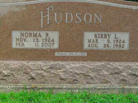 HUDSON, KIRBY L. - Boone County, Arkansas | KIRBY L. HUDSON - Arkansas Gravestone Photos