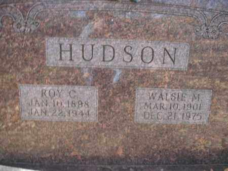 HUDSON, ROY CAPPS - Boone County, Arkansas | ROY CAPPS HUDSON - Arkansas Gravestone Photos