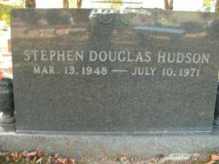 HUDSON, STEPHEN DOUGLAS - Boone County, Arkansas | STEPHEN DOUGLAS HUDSON - Arkansas Gravestone Photos