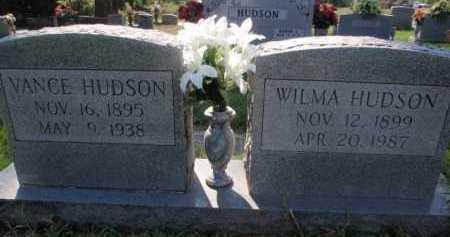 HUDSON, WILMA - Boone County, Arkansas | WILMA HUDSON - Arkansas Gravestone Photos