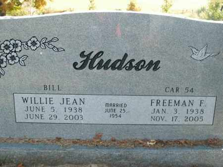 HUDSON, FREEMAN F. - Boone County, Arkansas | FREEMAN F. HUDSON - Arkansas Gravestone Photos