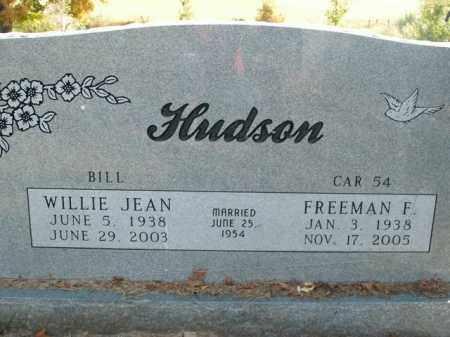 HUDSON, WILLIE JEAN - Boone County, Arkansas | WILLIE JEAN HUDSON - Arkansas Gravestone Photos
