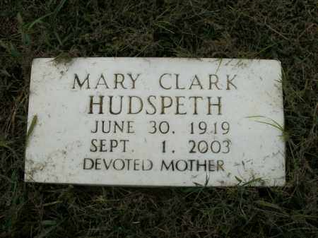 RUBLE HUDSPETH, MARY - Boone County, Arkansas | MARY RUBLE HUDSPETH - Arkansas Gravestone Photos