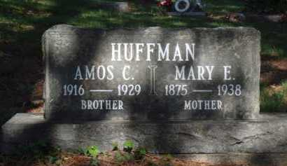 HUFFMAN, MARY E. - Boone County, Arkansas | MARY E. HUFFMAN - Arkansas Gravestone Photos