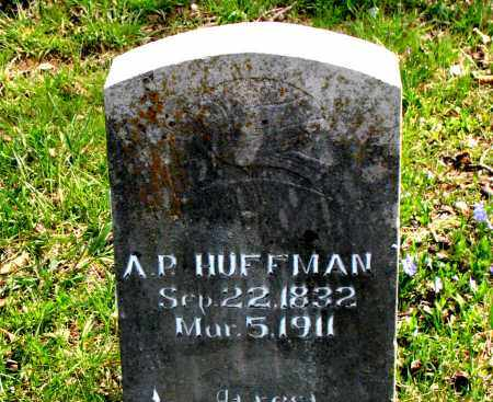 HUFFMAN, A.  P. - Boone County, Arkansas | A.  P. HUFFMAN - Arkansas Gravestone Photos