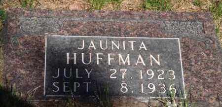 HUFFMAN, JAUNITA - Boone County, Arkansas | JAUNITA HUFFMAN - Arkansas Gravestone Photos