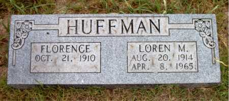 HUFFMAN, LOREN  M - Boone County, Arkansas | LOREN  M HUFFMAN - Arkansas Gravestone Photos
