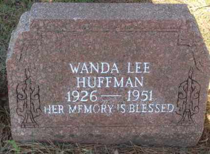HUFFMAN, WANDA LEE - Boone County, Arkansas | WANDA LEE HUFFMAN - Arkansas Gravestone Photos