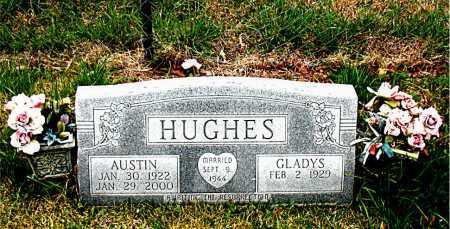 HUGHES, AUSTIN - Boone County, Arkansas | AUSTIN HUGHES - Arkansas Gravestone Photos