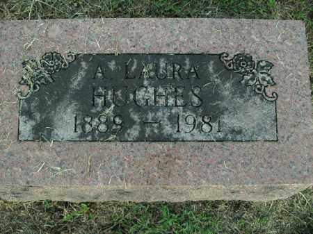 HUGHES, A LAURA - Boone County, Arkansas | A LAURA HUGHES - Arkansas Gravestone Photos