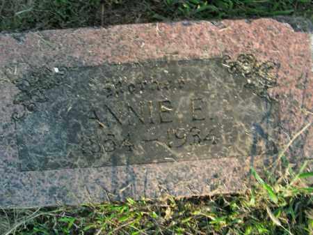 HUGHES, ANNIE E. - Boone County, Arkansas | ANNIE E. HUGHES - Arkansas Gravestone Photos