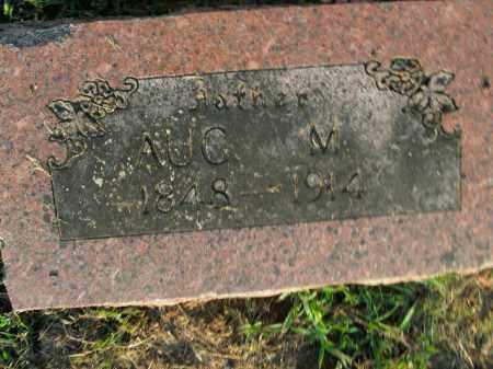 HUGHES, AUG. M. - Boone County, Arkansas   AUG. M. HUGHES - Arkansas Gravestone Photos