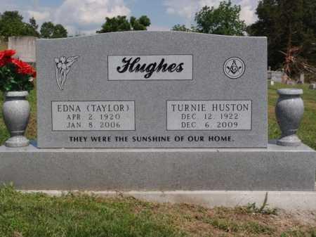 TAYLOR HUGHES, EDNA - Boone County, Arkansas | EDNA TAYLOR HUGHES - Arkansas Gravestone Photos