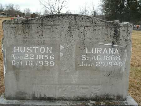 HUGHES, LURANA - Boone County, Arkansas | LURANA HUGHES - Arkansas Gravestone Photos