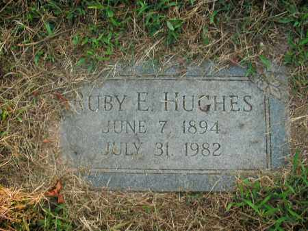 HUGHES, RUBY E. - Boone County, Arkansas | RUBY E. HUGHES - Arkansas Gravestone Photos