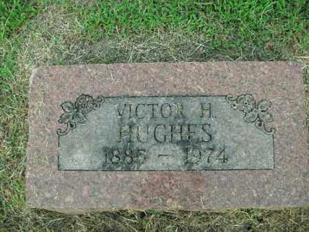 HUGHES, VICTOR H. - Boone County, Arkansas | VICTOR H. HUGHES - Arkansas Gravestone Photos