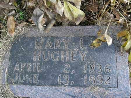 HUGHEY, MARY I. - Boone County, Arkansas | MARY I. HUGHEY - Arkansas Gravestone Photos