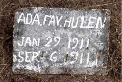 HULEN, ADA FAY - Boone County, Arkansas | ADA FAY HULEN - Arkansas Gravestone Photos