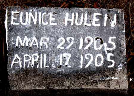 HULEN, EUNICE - Boone County, Arkansas | EUNICE HULEN - Arkansas Gravestone Photos