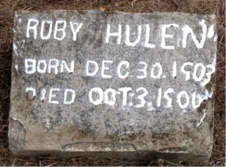 HULEN, ROBY - Boone County, Arkansas | ROBY HULEN - Arkansas Gravestone Photos