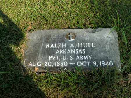 HULL  (VETERAN), RALPH A - Boone County, Arkansas | RALPH A HULL  (VETERAN) - Arkansas Gravestone Photos
