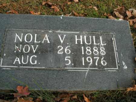 HULL, NOLA V. - Boone County, Arkansas | NOLA V. HULL - Arkansas Gravestone Photos