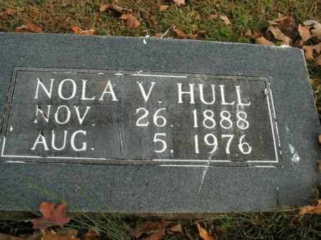 HULL, NOLA V. - Boone County, Arkansas | NOLA V. HULL - Arkansas Gravestone Photos