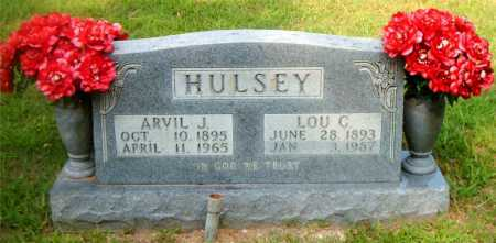 HULSEY, ARVIL J. - Boone County, Arkansas | ARVIL J. HULSEY - Arkansas Gravestone Photos