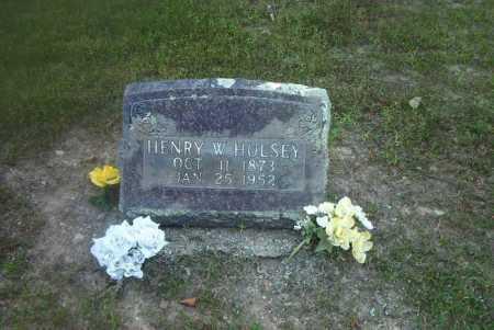 HULSEY, HENRY W - Boone County, Arkansas | HENRY W HULSEY - Arkansas Gravestone Photos