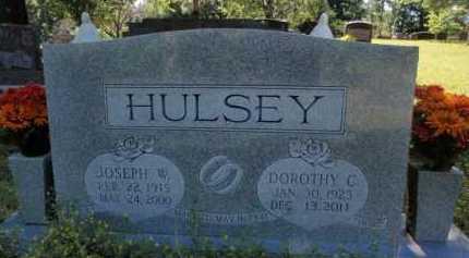 HULSEY, JOSEPH W. - Boone County, Arkansas | JOSEPH W. HULSEY - Arkansas Gravestone Photos