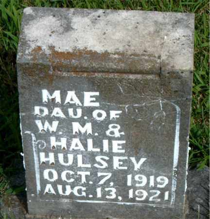 HULSEY, MAE - Boone County, Arkansas | MAE HULSEY - Arkansas Gravestone Photos