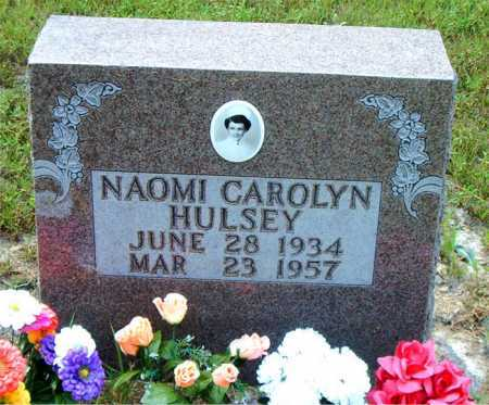 HULSEY, NAOMI CAROLYN - Boone County, Arkansas | NAOMI CAROLYN HULSEY - Arkansas Gravestone Photos