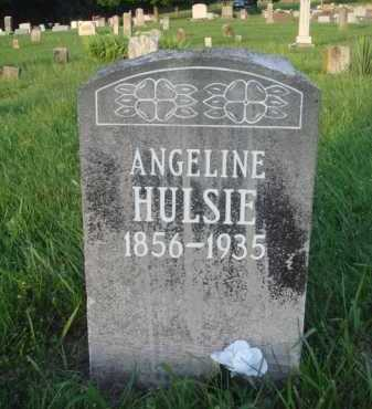 HULSIE, ANGELINE - Boone County, Arkansas | ANGELINE HULSIE - Arkansas Gravestone Photos