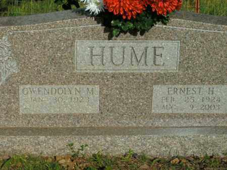 HUME, ERNEST HARDING - Boone County, Arkansas | ERNEST HARDING HUME - Arkansas Gravestone Photos