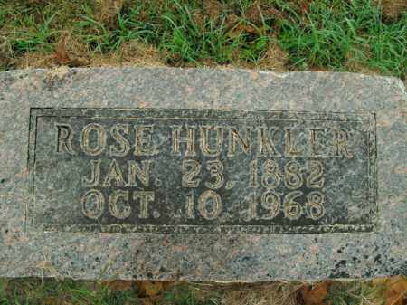 HUNKLER, ROSE - Boone County, Arkansas | ROSE HUNKLER - Arkansas Gravestone Photos