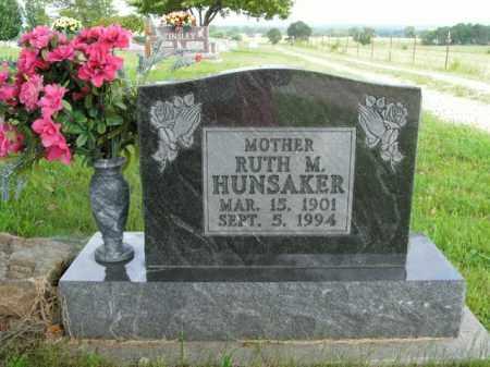 HUNSAKER, RUTH M. - Boone County, Arkansas | RUTH M. HUNSAKER - Arkansas Gravestone Photos