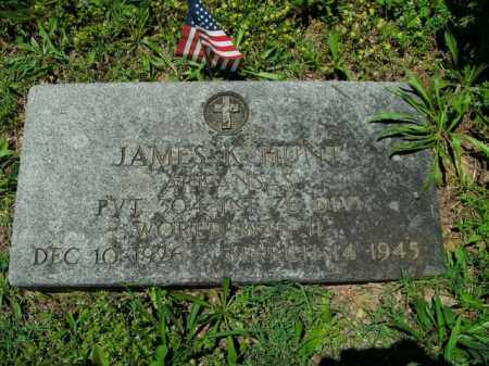 HUNT  (VETERAN WWII), JAMES K. - Boone County, Arkansas | JAMES K. HUNT  (VETERAN WWII) - Arkansas Gravestone Photos