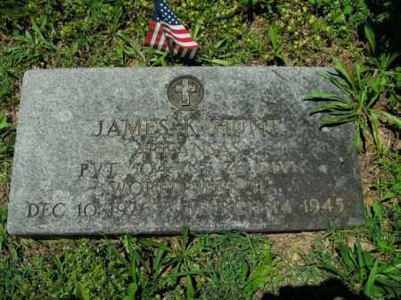 HUNT  (VETERAN WWII), JAMES K. - Boone County, Arkansas | JAMES K. HUNT  (VETERAN WWII) - Arkansas Gravestone Photos