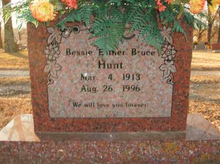 "BRUCE HUNT, BESSIE ""ESTHER"" - Boone County, Arkansas 