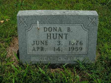 HUNT, DONA B. - Boone County, Arkansas | DONA B. HUNT - Arkansas Gravestone Photos