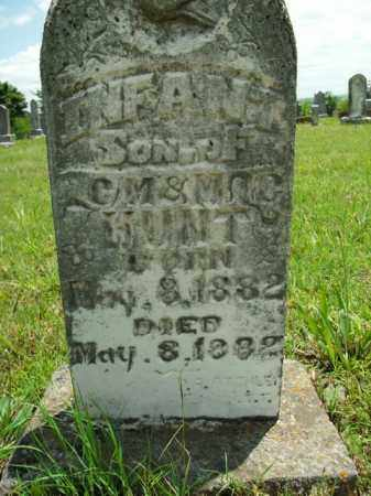 HUNT, INFANT SON - Boone County, Arkansas | INFANT SON HUNT - Arkansas Gravestone Photos